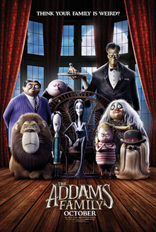 The Addams Family (2019) – Drive-In Movie